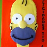 Tarta Serie Los Simpson