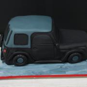 Tarta Wrangler 3D, Tarta coche 3D, tartas decoradas madrid, tartas fondant madrid, tartas personalizadas madrid, tartas cumpleaños,
