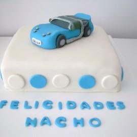 Tarta Smart Roadster, tartas personalizadas madrid, tartas decoradas madrid, tartas fondant madrid, tarta coche 3D, tarta cumpleaños