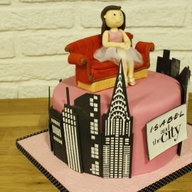 Tarta Friends y Sex and The CityTarta Friends y Sex and The City