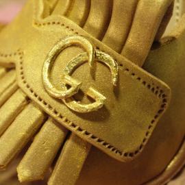 Tartas personalizadas madrid, Tartas decoradas madrid, tartas fondant madrid, thecakeproject, Reposteria Creativa, tartas infantiles, tartas cumpleaños, Tarta Zapato de fondant 3D, tarta zapato Gucci