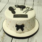 Tarta Peluqueria, tartas personalizadas madrid, tartas fondant madrid, tartas decoradas madrid