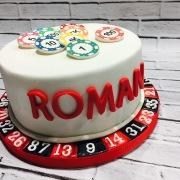 Tarta Crupier, tartas personalizadas madrid, tartas decoradas madrid, tartas fondant madrid, tartas cumpleaños,