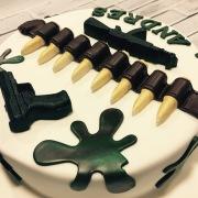 Tartas personalizadas madrid, tartas decoradas madrid, tartas fondant madrid, tarta militar